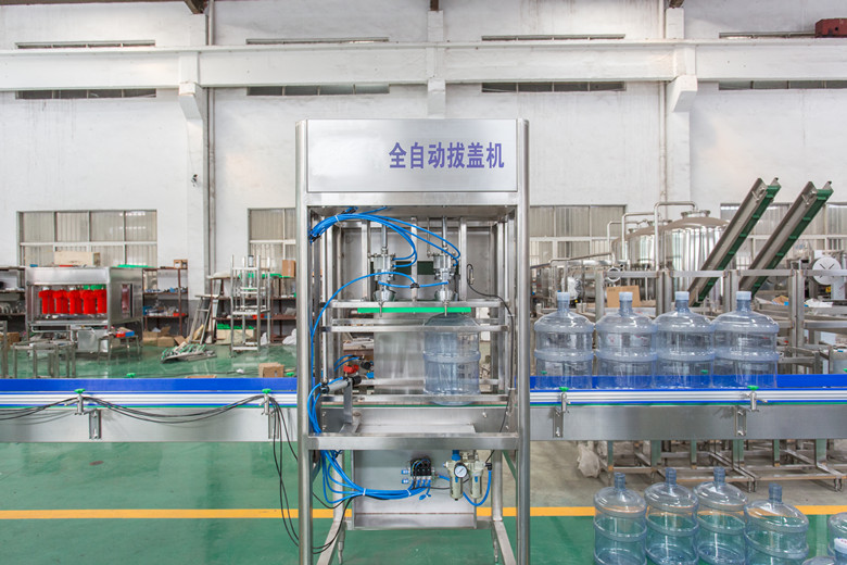 600桶装水生产线